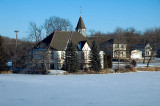 The Many Moods of the Mill Pond Church  ~  February 5 [8]