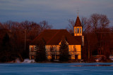 Mill Pond Church Sunset  ~  March 13  [7]