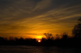March Sunset on the Mill Pond  ~  March 19