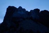Mount Rushmore at Dusk