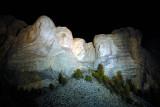 Mount Rushmore Night 2