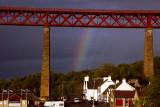 Rainbow over Hawes Inn
