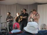 Bluegrass in Blythe, CA (NewFound Road on stage)