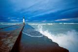 Pier, Storm