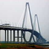 Bridge in Rain