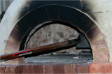 Brick fired oven