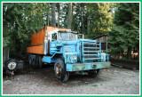 Kenworth logging truck.
