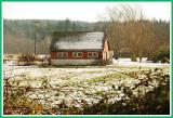 Barn in the field.