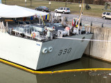 HMCS HALIFAX VISITS MONTREAL