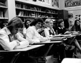 Bill Sparks, Rick Kichler, Susan Pond, Pete Nagora, Connie Wilson, Yvonne Poneta, Lynn Johnson English Class