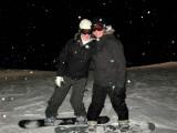 Jackie & Erin Night Boarding 2007 Blue Mountain