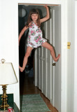 Jackie Climbing Door Frame