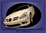 White convertible 3D