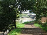 The towpath to Kew Bridge.
