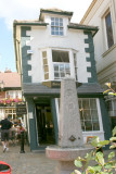 The Old Crooked House in Windsor.
