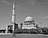Cycling Around The Mosque