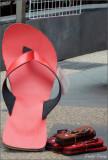 Red Thongs