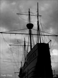Silhouette Of The Ship