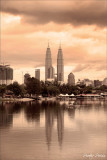 Petronas Twin Towers & Its Reflection