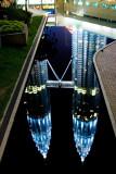 Reflection Of Petronas Twin Towers