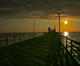 Early Evening on the Pier