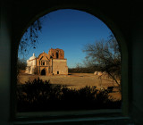 A Window to the Past - Mission Tumacocori