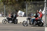 Craig Lowndes on Harley