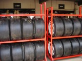 Holden Racing Team Tyre Bank