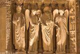 Detail - Portal of the Virgin - Portail de la Vierge