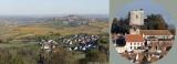 Amigny, Saint-Satur and Sancerre & a full size detail from 100 mega pixels