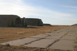 Old reinforced hangars