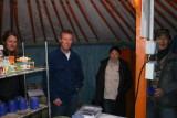 Inside the canteen gir.