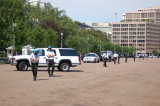 Guards in front of Whitehouse
