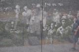 Korean War Memorial Wall and reflections