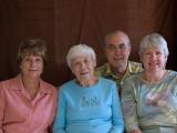 Faye, Mother, Gary & Jeannie - 2007