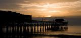 Sunrise over the Cocoa Beach Pier