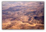 Sinai peninsula from 9000 m