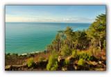 Abkhazia, view from the Stalin's datcha Kholodnaya rechka