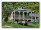 Abkhazia , abandoned house