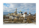 The town of Sergiev Posad