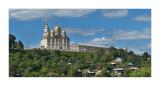 Vladimir, view from the bridge across Klyazma river