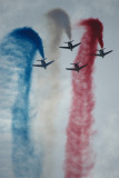 special guests - Patrouille de France aerobatic team
