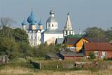 Suzdal town, the Kremlin view