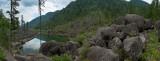 Òåëåöêîå îçåðî, êàìåííûé çàëèâ / Altai, Lake Teletskoe, Kamenny (stone) cove