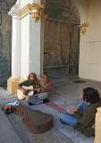 street musician, key west