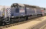 MRL SD40 214, ex. BN.