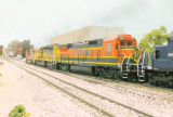 Other power included BNSF 6335, BNSF 8601, and MRL 225.