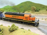 7888 is a custom numbered & detailed Athearn SD40-2.