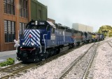 96 cylinders of pure EMD horsepower.