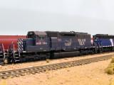 MRL 263, Op. Lifesaver SD40-2XR.